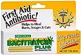Bacitraycin Plus First Aid Antibiotic, Original, with Moisturizing Aloe, 1 oz.