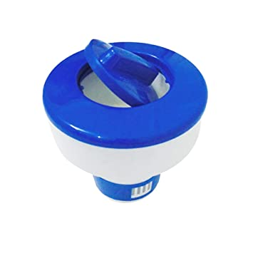 Moliies Dispensador Flotante de la Tableta química del Cloro Dispensador químico de la Piscina del Tenedor