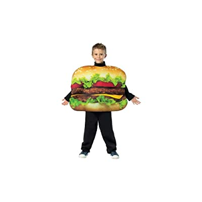 Rasta Imposta Get Real Cheeseburger Childrens Costume, 7-10, Multicolor: Toys & Games