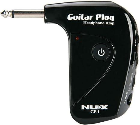 Nux GP-1 - Conector de guitarra para amplificador o auriculares ...