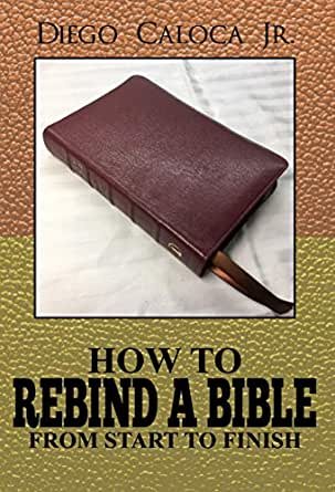 How to rebind a book