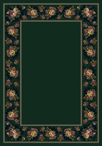 Milliken Design Center 8548 - Floral Lace Emerald