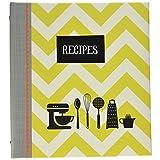 CRG QP12-14120 Kitchen Gear Pocket Page Recipe Book, Multicolor