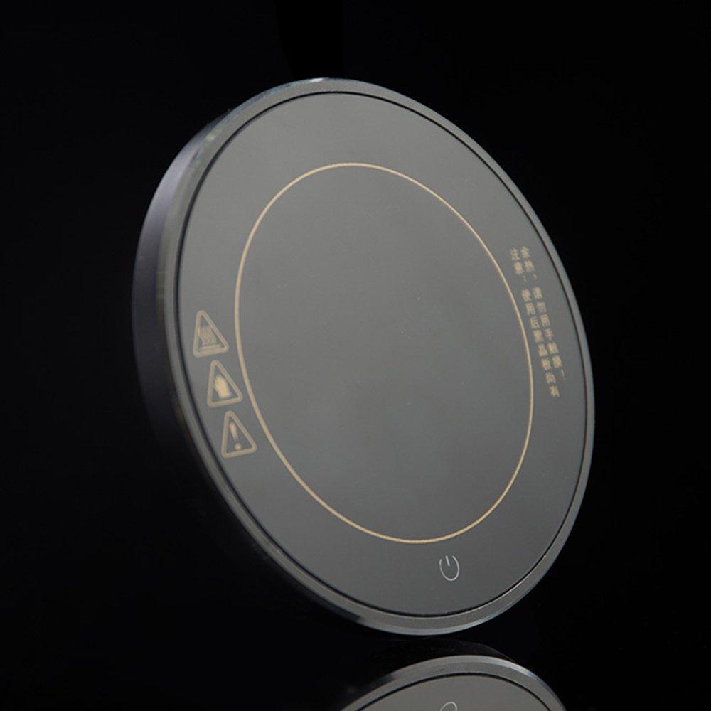 XRXY Base termostática delgada creativa / Coaster de aislamiento ajustable simple / Cojín de calefacción de té / Mesita de noche Mini Tesoros termostáticos ...