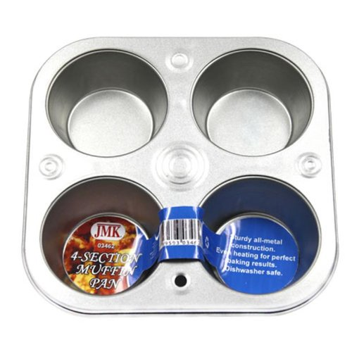 IIT 03462 4-Section Muffin Pan (4 Cup Muffin Pan)