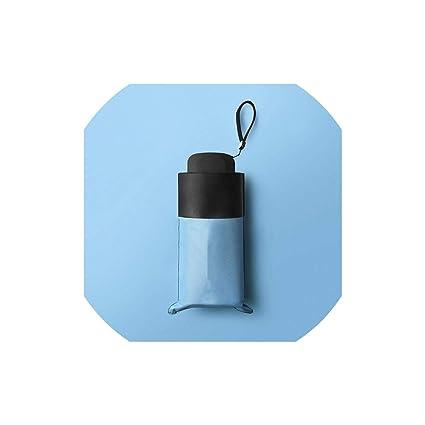 Amazon.com: Paraguas de bolsillo mini Paraguas Anti UV ...
