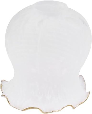 Typ 2 FLAMEER E27 Glas Lampenschirm Lampenglas Ersatzglas Ersatzschirm f/ür Kronleuchter Wandleuchte H/ängeleuchte