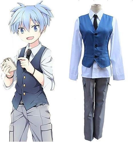 ULLAA Assassination Classroom Shiota Nagisa Anime Cosplay Disfraz ...