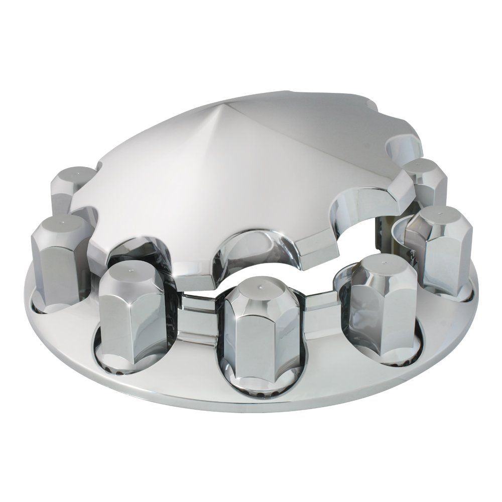 Grand General 40183 Chrome ABS Front Axle Cover Set by Grand General