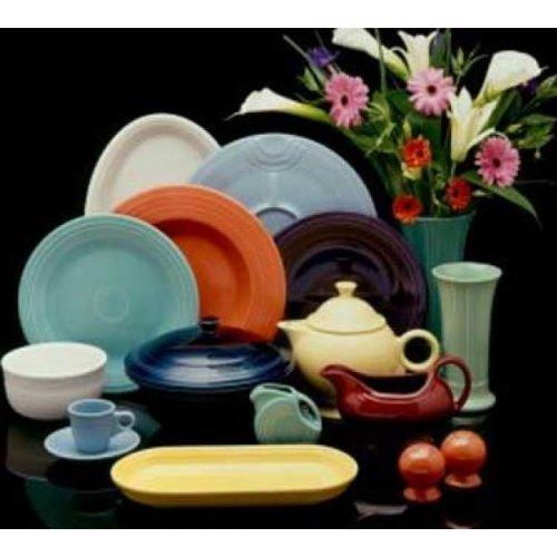 Salad Plate, 7-147;234, Square, Fiesta Paprika (334 921)