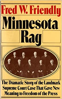 Book Minnesota Rag: The Scandal Sheet That Shaped the Constitution