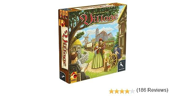 Pegasus Spiele - Village: Amazon.es: Juguetes y juegos