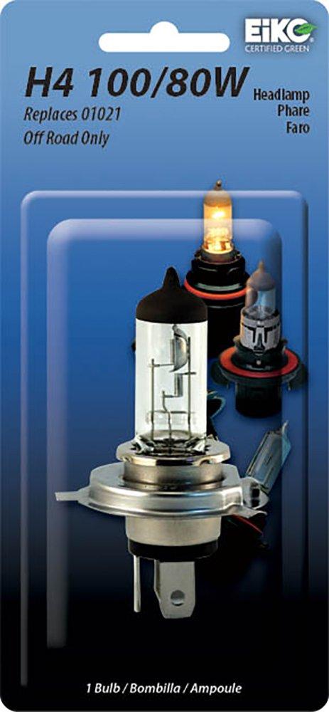 Eiko 01021-BP H4 Series Halogen Lamp Pack of 1