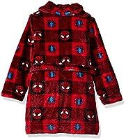 Marvel Boys' Toddler Spiderman Luxe Plush Robe
