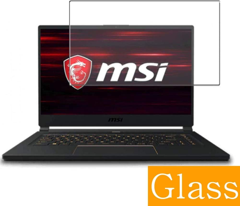 Synvy Tempered Glass Screen Protector for MSI GS65 Stealth GS65-9SG-468JP 2019 15.6