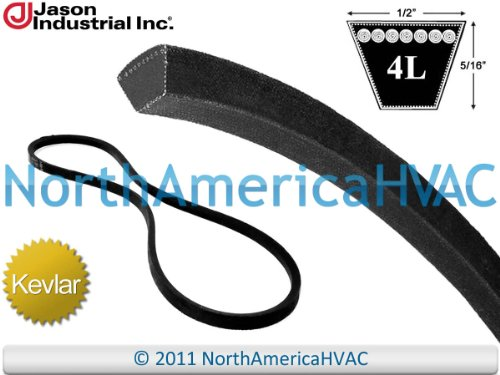 2295 - Gates Super Heavy Duty Kevlar Aramid All Purpose V-Belt 4L295 1/2