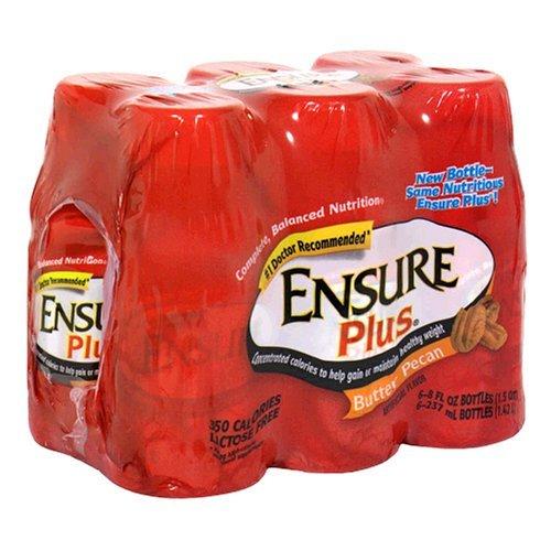 Ensure Plus Butter Pecan Shake 6/8 fl oz Bottle(S) by Ensure ()