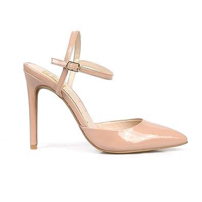 70b2aaac45 Amazon.com: Fahrenheit Vivien02 Pointy-Toe Women's High Heel Pumps ...