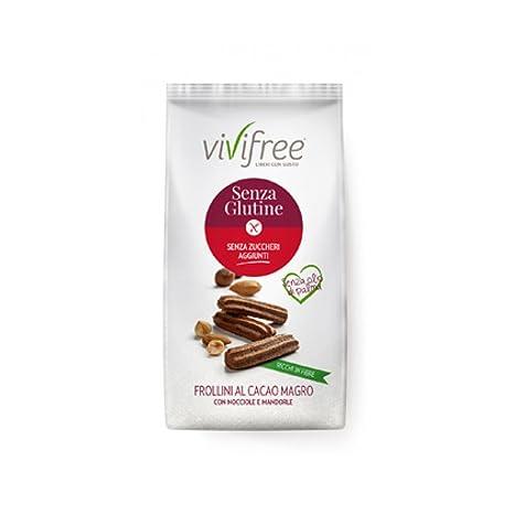 Vivifree Rosquillas En Cacao Magro gluten 250g: Amazon.es ...
