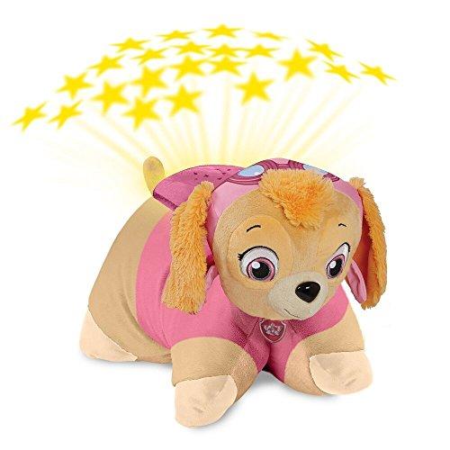 Paw Patrol Pillow Pets - Skye Dream Lites Stuffed Animal Night Light