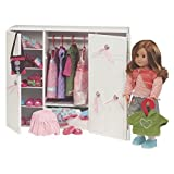 (US) Our Generation Dolls Wooden Wardrobe Doll, 18