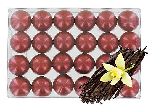 Box of 24 oil bath pearls - pearly vanilla S&B