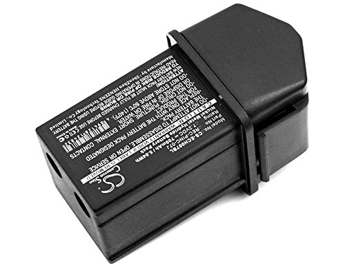 Cameron Sino Replacement Battery for ELCA CONTROL-07, CONTROL-07MH-A, CONTROL-07MH-D, Genio-M, Genio-P, Techno-M