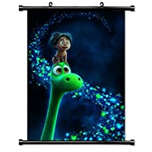 The Good Dinosaur Movie Fabric Wall Scroll Poster (32x45) Inches