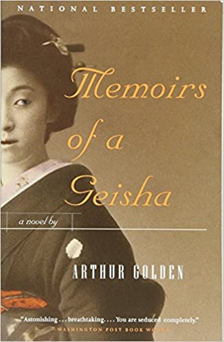 Image result for book cover memoirs of a geisha