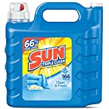 Sun Laundry Detergent Sun Ultra Liquid Laundry Detergent, Clean and Fresh, 250 Ounces, 166 Loads