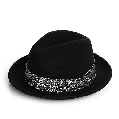 b4dd5504 ... wholesale vim tree mens crushable 100 wool felt fedora hat indiana jones  trilby hat with band