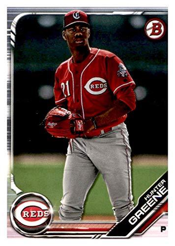 new arrival 9e434 9d55e 2019 Bowman Prospects Baseball #BP51 Hunter Greene ...