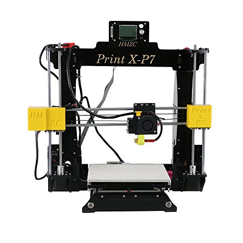 Hi-azul HMZC Print X-P7 3D Printer High Accuracy Desktop DIY Printer FDM 1.75MM PLA Filament Printing Machine