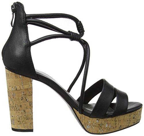 Svart Tozzi 002 Hæler Antikk Kvinners svart 28331 Sandaler Wedge Marco YaZ4xwZ