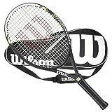 Cheap Wilson Hyper Hammer 5.3 Strung Tennis Racquet 2 Racquet Bag (4-1/4)