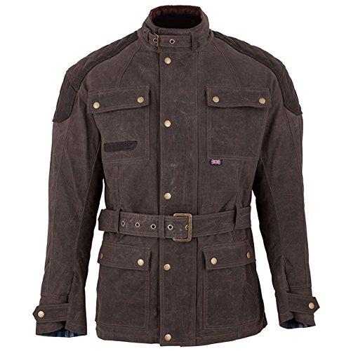 Waxed Cotton Motorcycle Jacket - 7