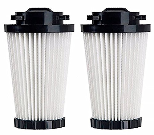 Green Label 2 Pack For Dirt Devil F2 HEPA Vacuum Filter. Compares to 3SFA11500X. Fits: M08245, M084100, M084600, M08245, M08245X, M084610RED, M084650RED, SD20505, R084600, UD40210