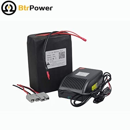 BTR Portable 48V 10ah 15ah 20ah 28ah 30ah 40ah 50ah Ebike Lithium Battery Pack with A Battery Charger,BMS for Electric Bicycle