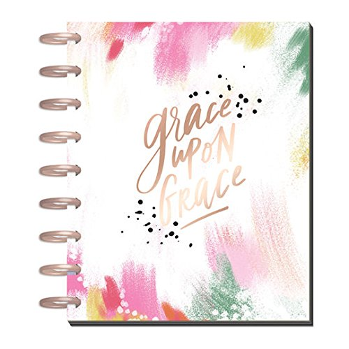Create365 The Deluxe Classic Happy Planner Faith Edition, Grace Upon Grace, 12 Month January-December 2018