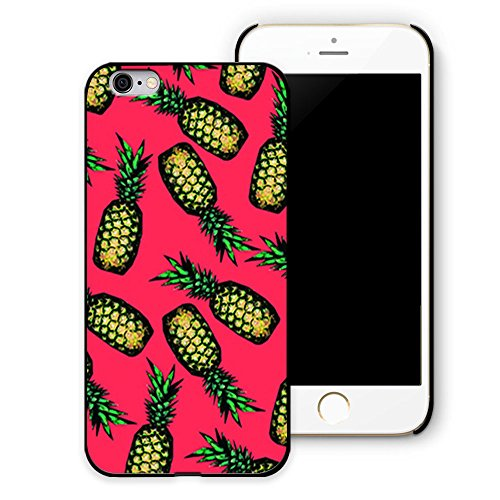 PETREL Pineapple Tough plastic personalized Cover Skin Case for iPhone 6 (4.7-Inch) - Retail Packaging