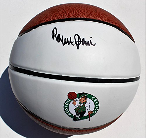 - Robert Parish Autographed Basketball - Parrish Logo w COA 2003 HOF The Chief #1 - Autographed Basketballs