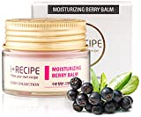Face Serum Recipe - Moisturizing Berry Balm Night Cream - Daily Hydrating Facial Repair For Men and Women - Moisturizer For Face by I+Recipe - 30 ml
