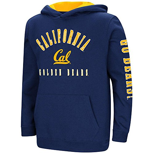 (Youth Cal Berkeley Golden Bears Pull-Over Hoodie - S )