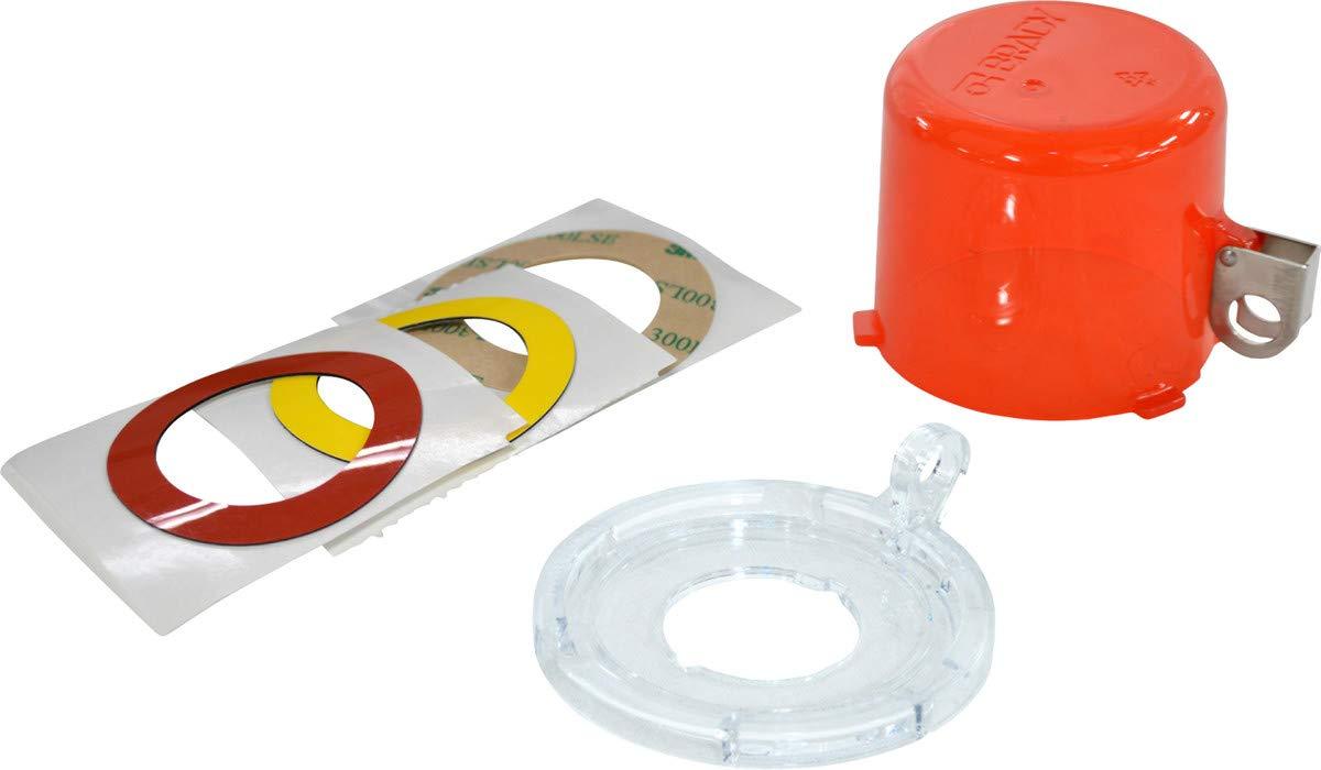 Brady Red Polycarbonate Lockout Device