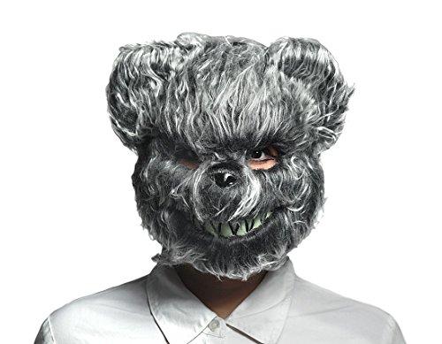 Zeckos Hairy Scary Furry Evil Teddy Bear Mask for $<!--$25.31-->