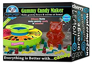Cooking Gummy Candy Maker Kit - Working Mini Kitchen Light Bulb Toy For Kids