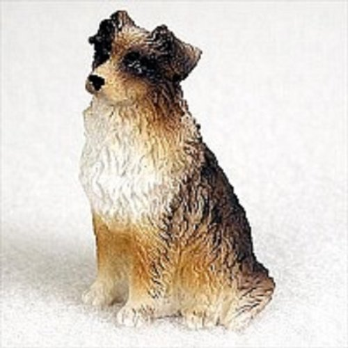 Brown Tiny One Figurine - Conversation Concepts Australian Shepherd Brown Tiny One Figurine