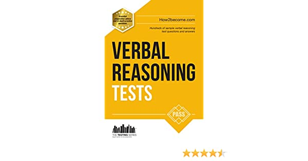 Amazon verbal reasoning tests how to pass verbal reasoning amazon verbal reasoning tests how to pass verbal reasoning tests the testing series ebook richard mcmunn kindle store fandeluxe Gallery