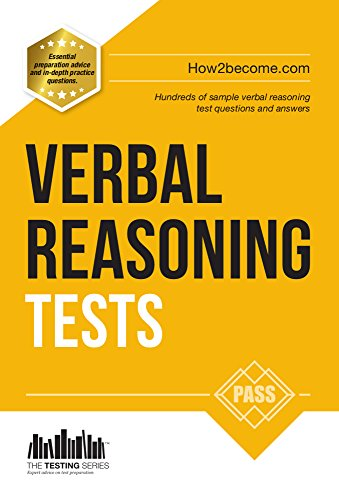 Verbal Reasoning Tests - How to pass Verbal Reasoning Tests (The Testing  Series)