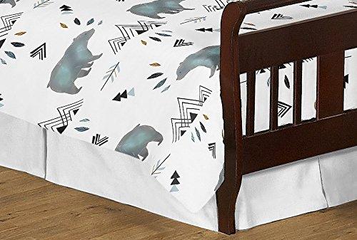 Sweet Jojo Designs 5-Piece Bear Mountain Watercolor Boy Toddler Kid Childrens Bedding Set s Comforter, Sham and Sheets by Sweet Jojo Designs (Image #4)